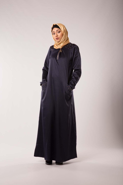 Abaya Chic & Modesty Bleu fonçé