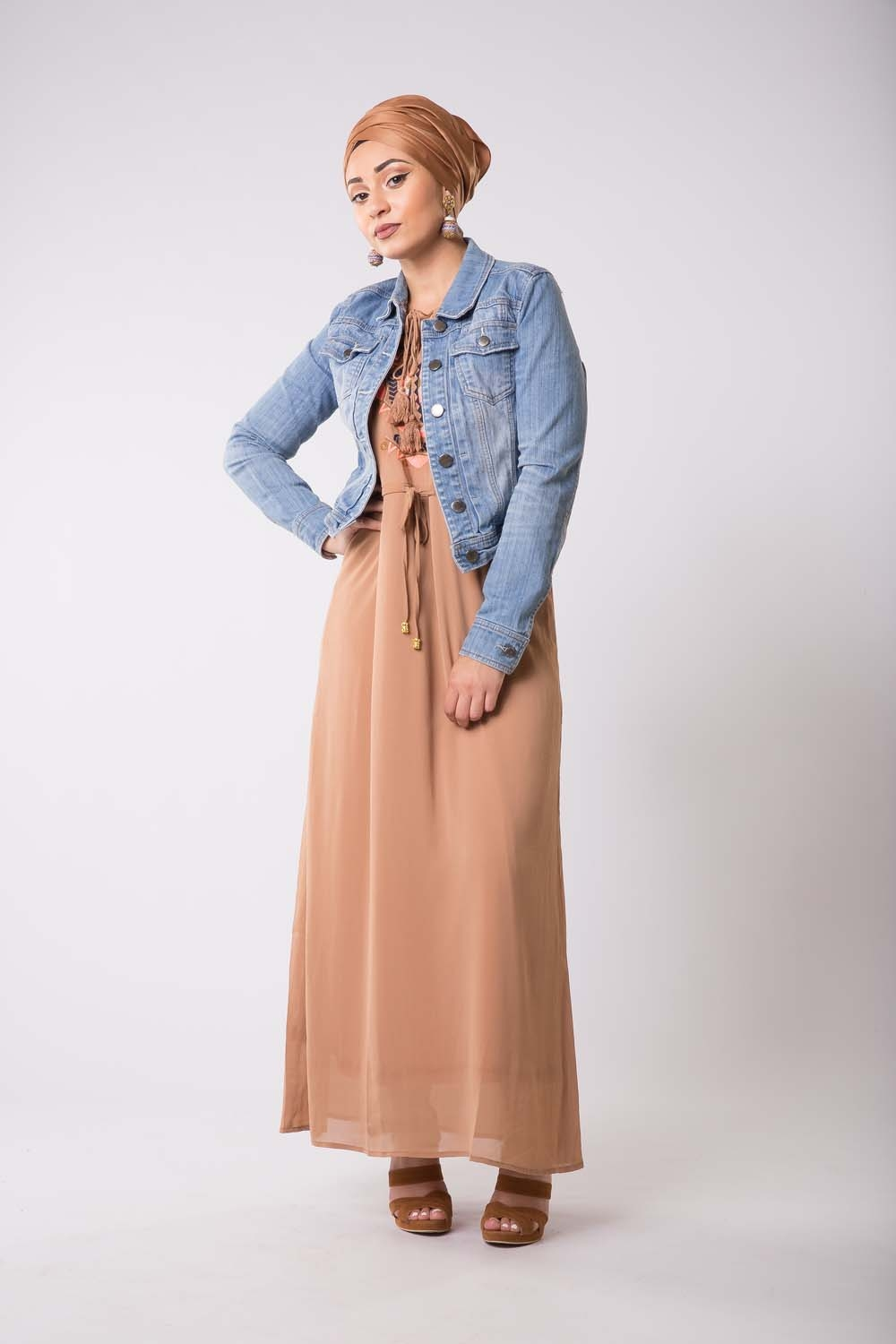 Robe Summer camel
