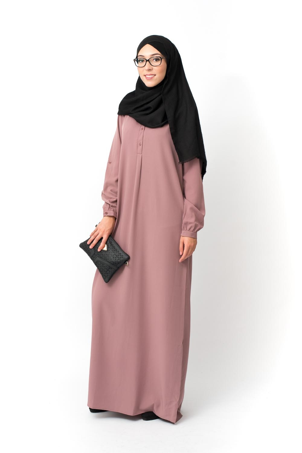 Robe Calisual mauve