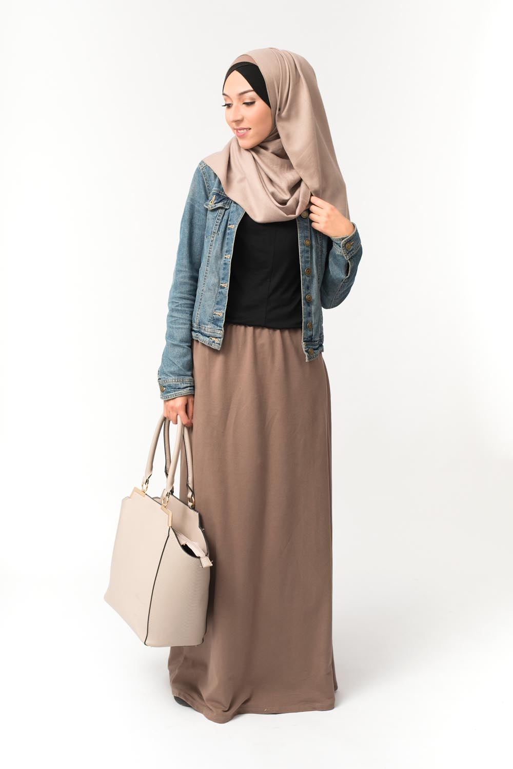 Jupe WINTER taupe