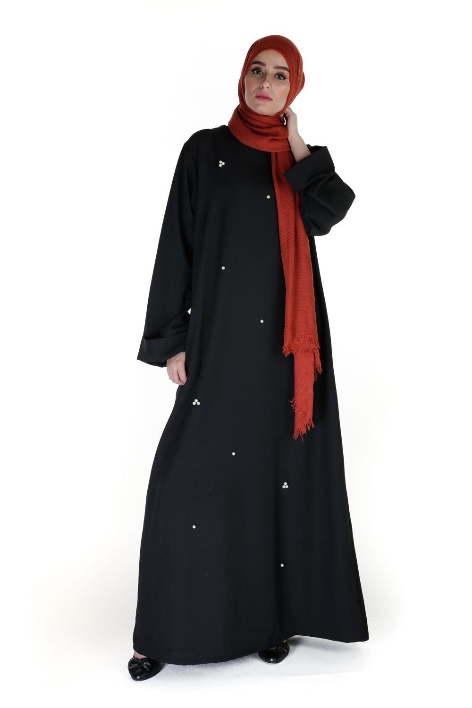 Abaya Pearly noir