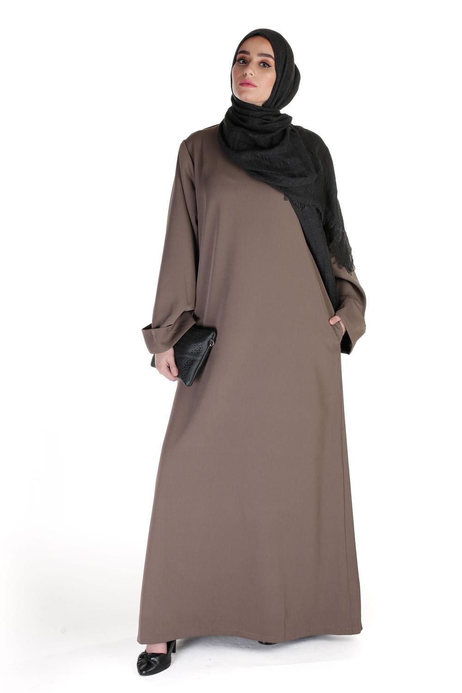 Abaya Casual Chic taupe