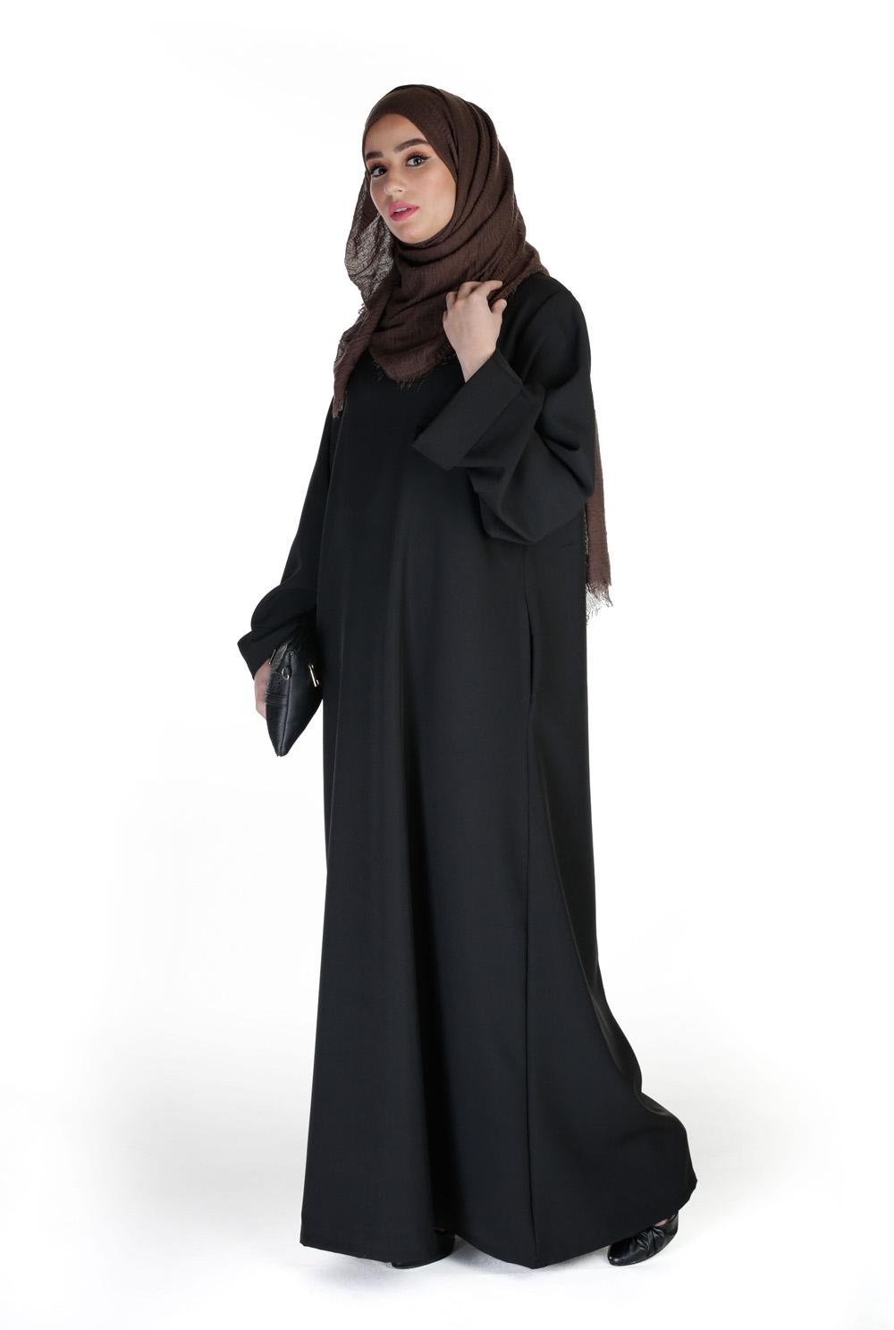 Abaya Casual Chic noir