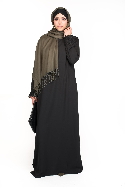 Robe Broderie noir