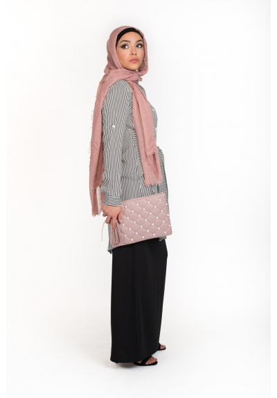 Sac Chic Pearly rose boutique hijab