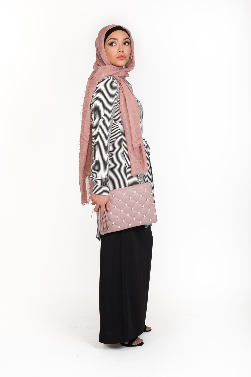 Sac Chic Pearly rose
