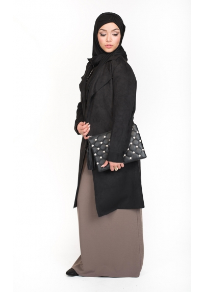 Sac Chic Pearly noir boutique hijab