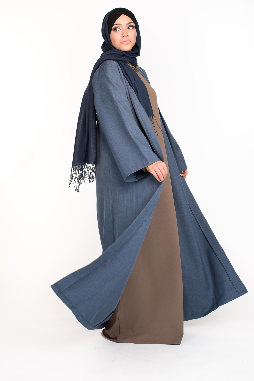 Kimono Casual bleu
