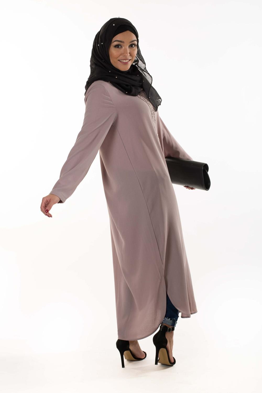 Tunique Abaya Mauve