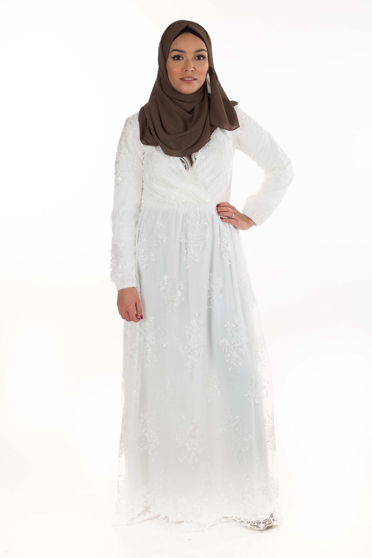 Robe Kaftan blanc