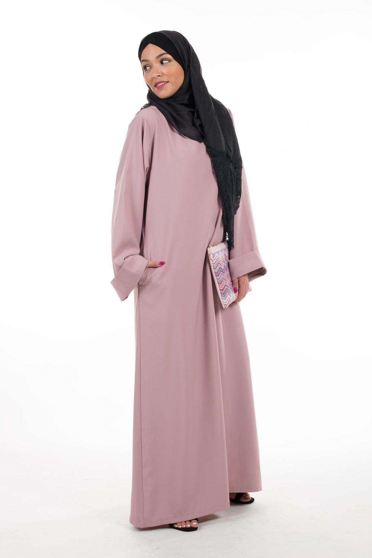 Abaya Casual Chic mauve