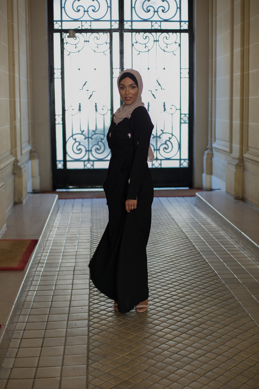 Robe Saphir noir