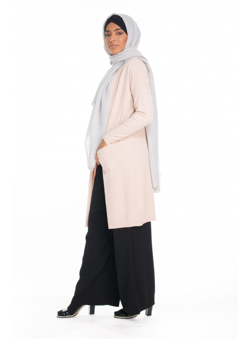 Gilet Cachma pink