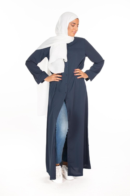 Robe Chemise Cali bleu