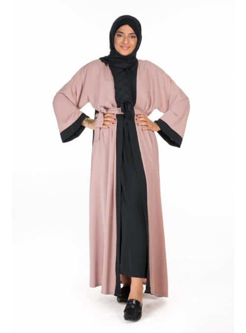 abaya kimono nude pour femmes musulmanes boutique hijab paris mode modest fashion
