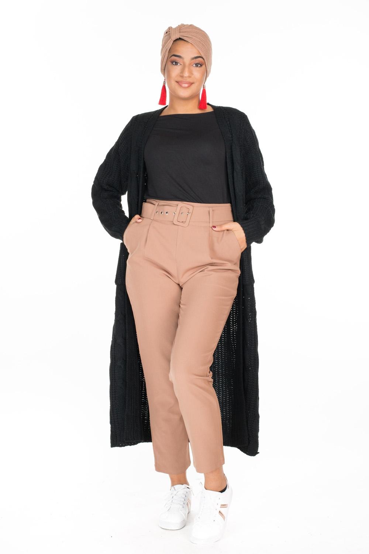 Pantalon chino brown