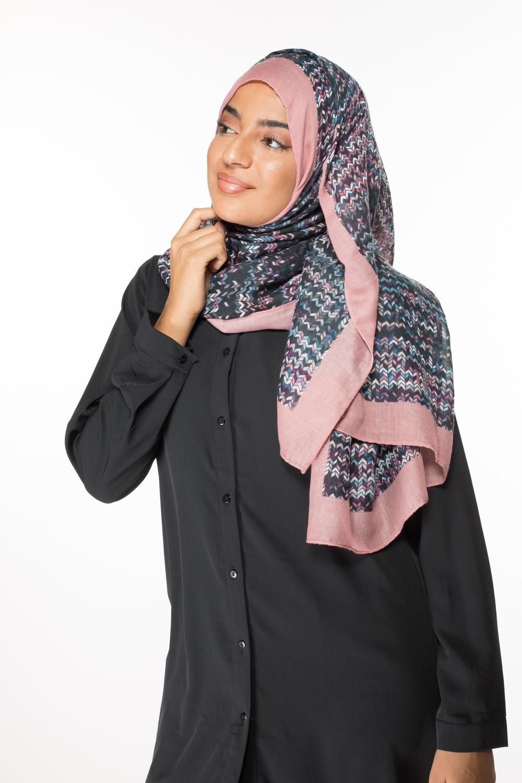 Hijab pixelia pink