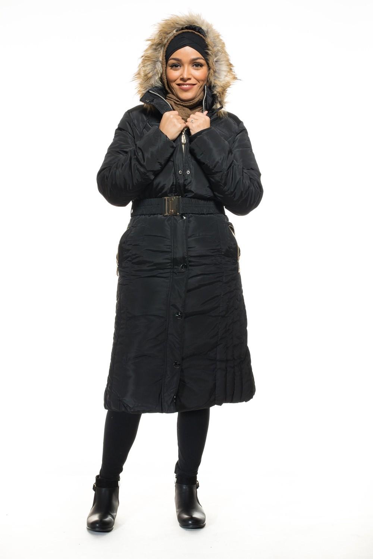 Manteau hiver femme musulmane