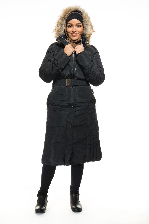 Manteau doudoune longue