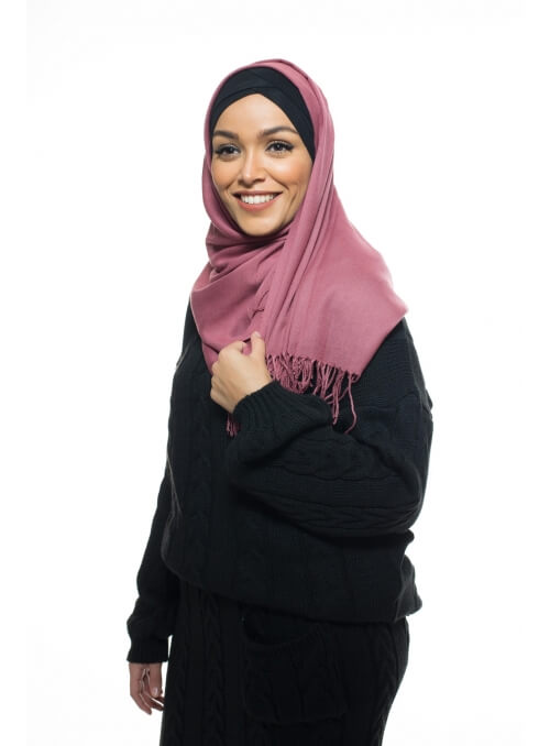 Pashmina Turkey framboise boutique hijab