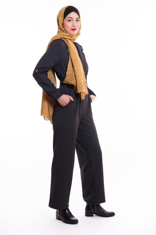 découvrir les dernières tendances fournir beaucoup de magasin en ligne combinaison pantalon noir