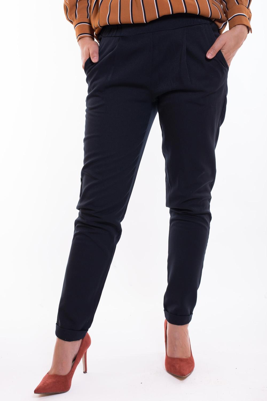 Pantalon coupe cigarette bleu foncé