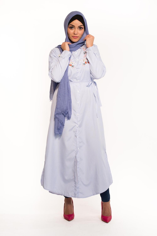 Chemise XL bleu clair
