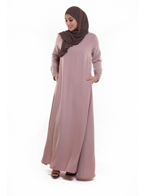 Robe Swan taupe