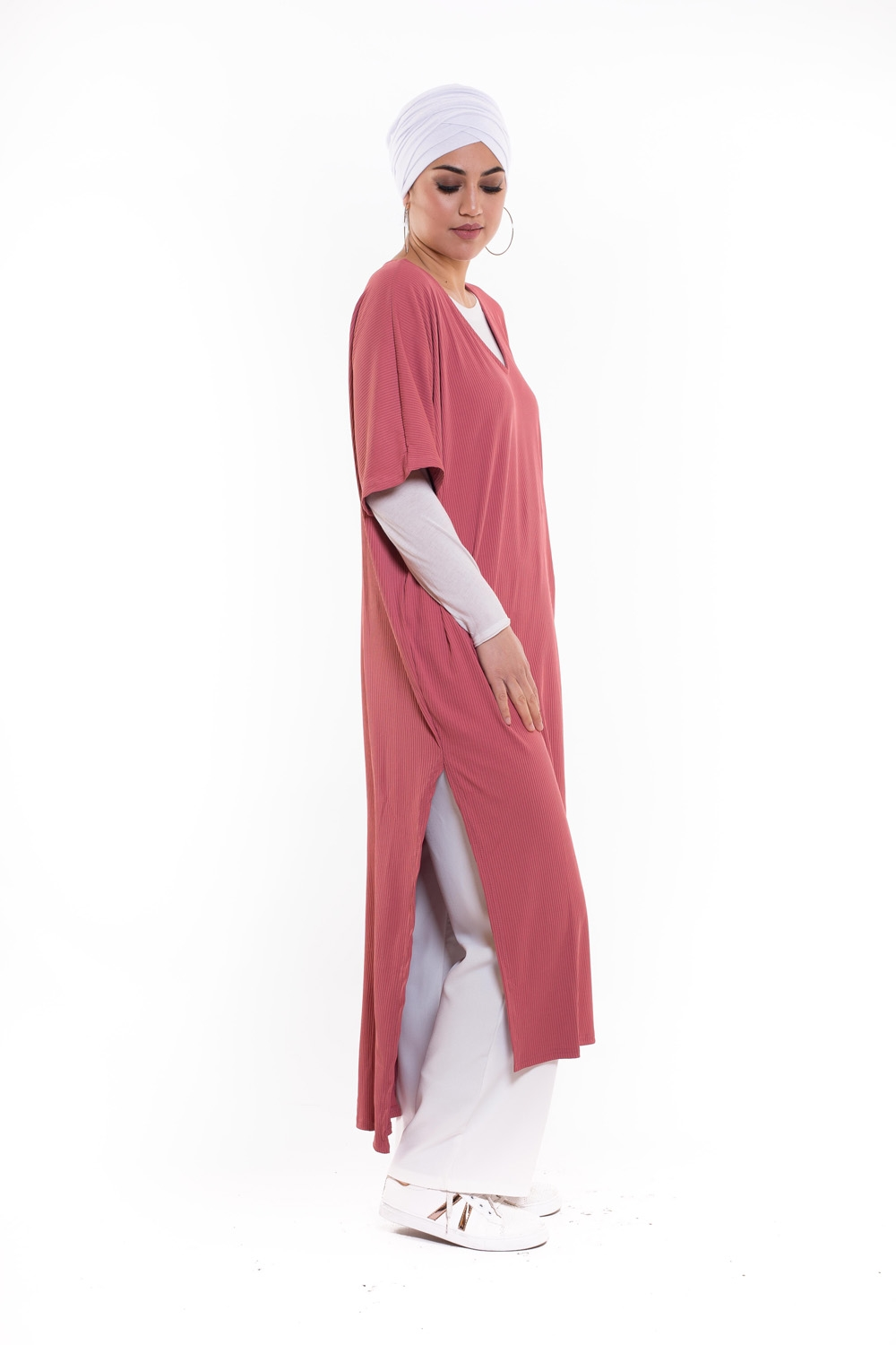 Robe tunique summer framboise