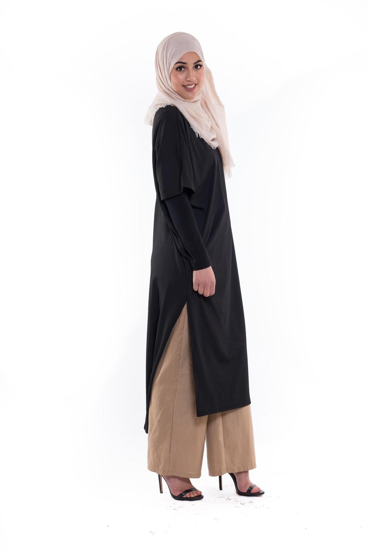 Robe tunique summer noir