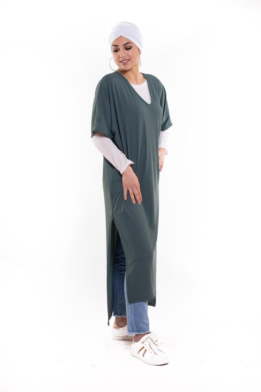 Robe tunique summer vert azur