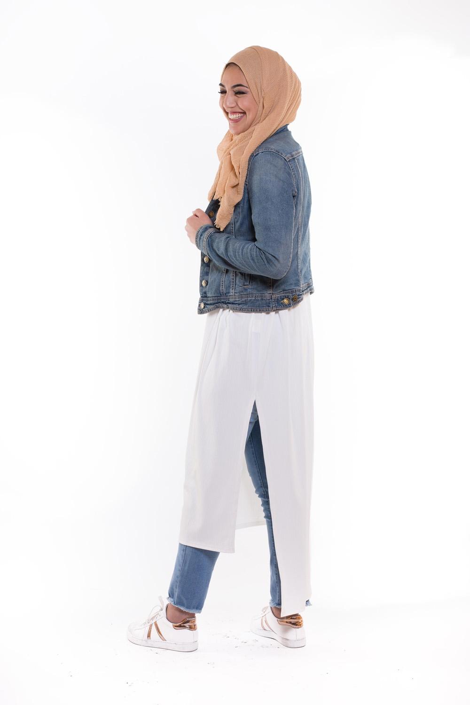 Robe tunique summer blanche