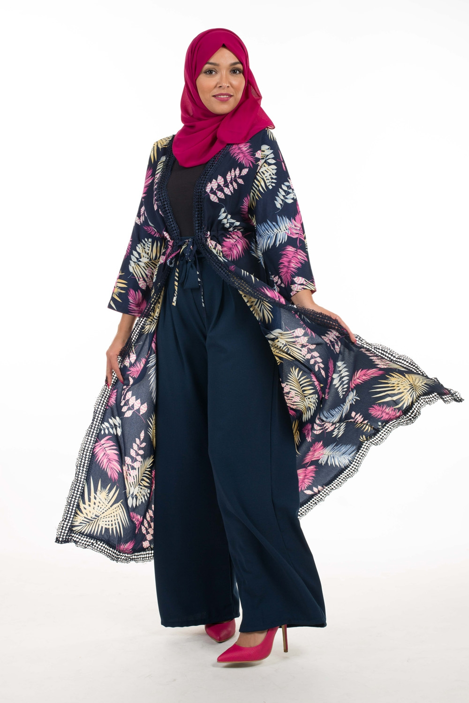 Kimono Summer bleu