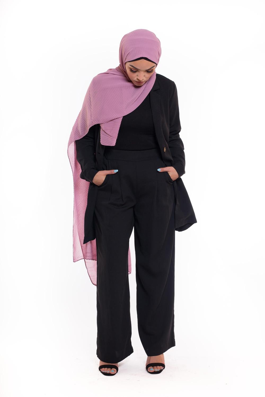 Tailleur pantalon noir