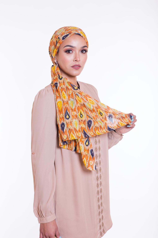 Hijab 100% coton indiana