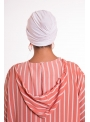 Turban summer blanc boutique hijab