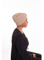 Turban summer beige boutique hijab