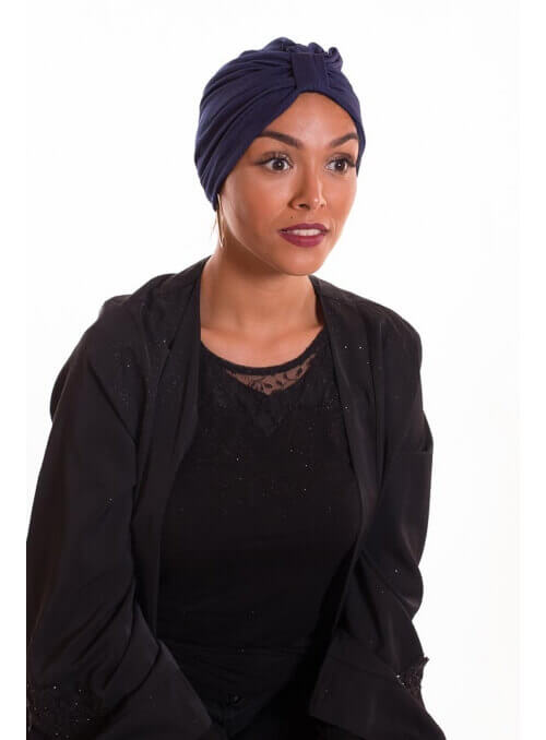 Turban summer bleu boutique hijab