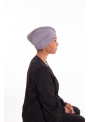 Turban summer gris clair boutique hijab