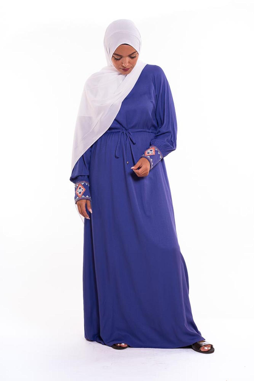 Robe anika bleu
