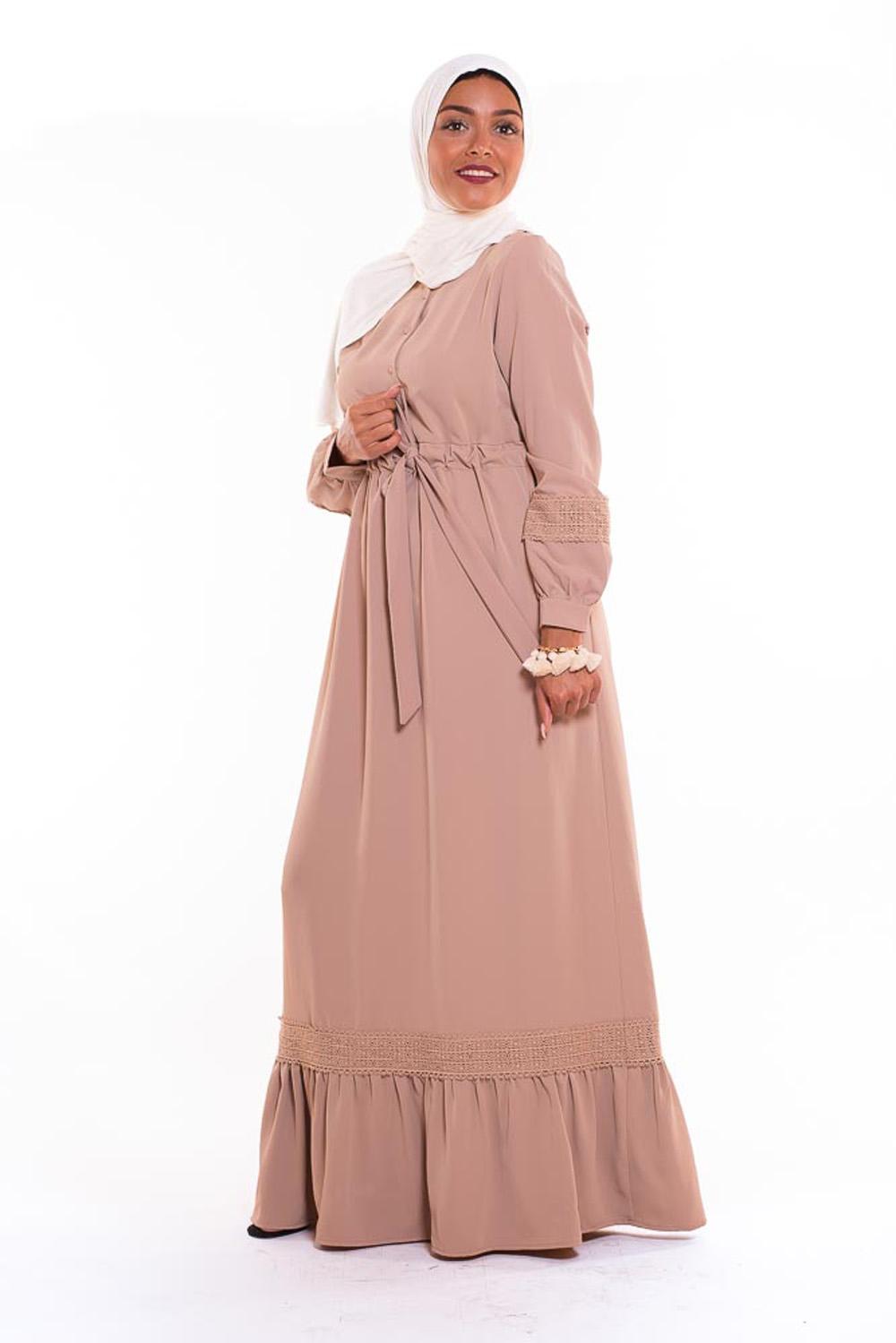 Robe Amira beige
