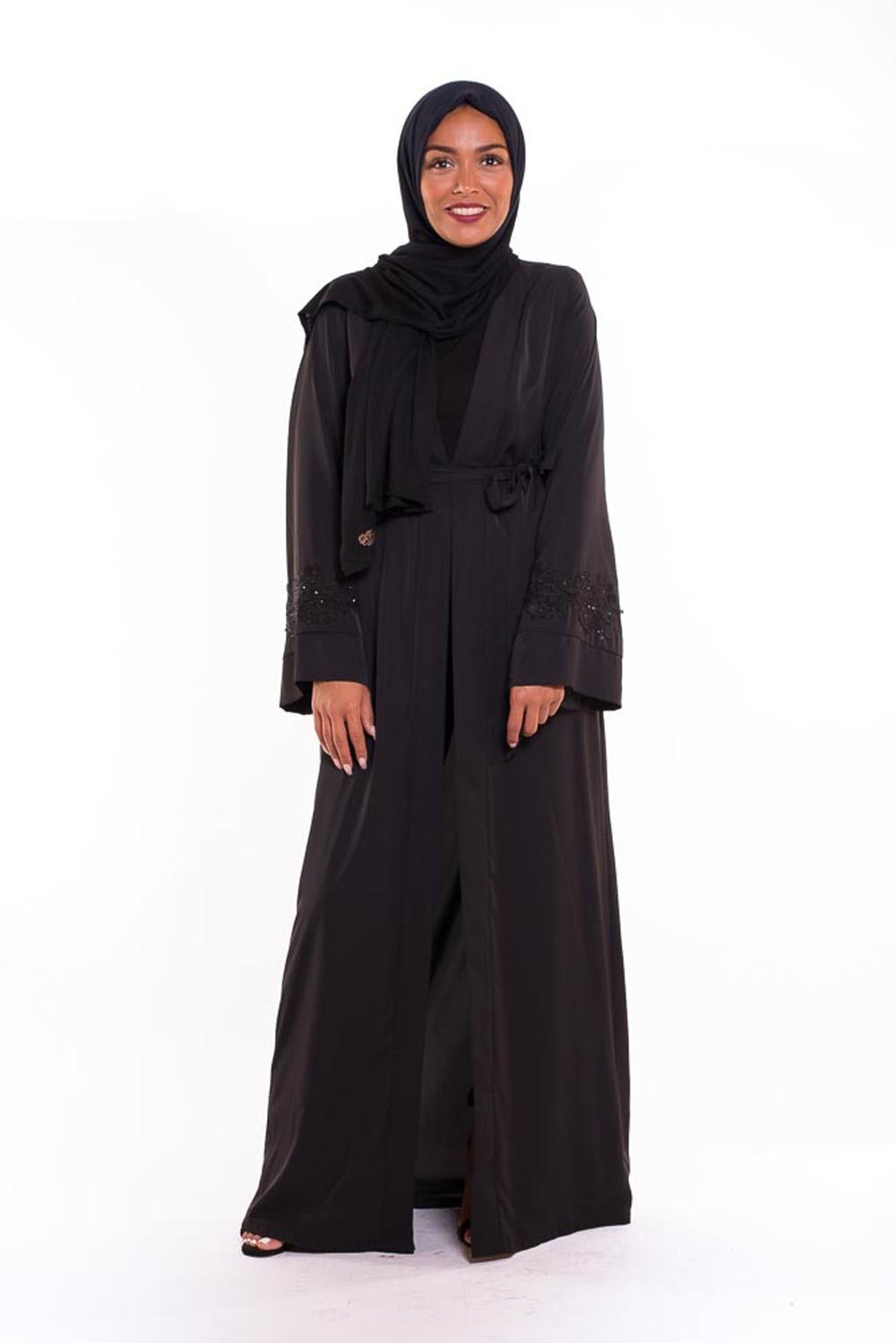 Kimono Emira noir