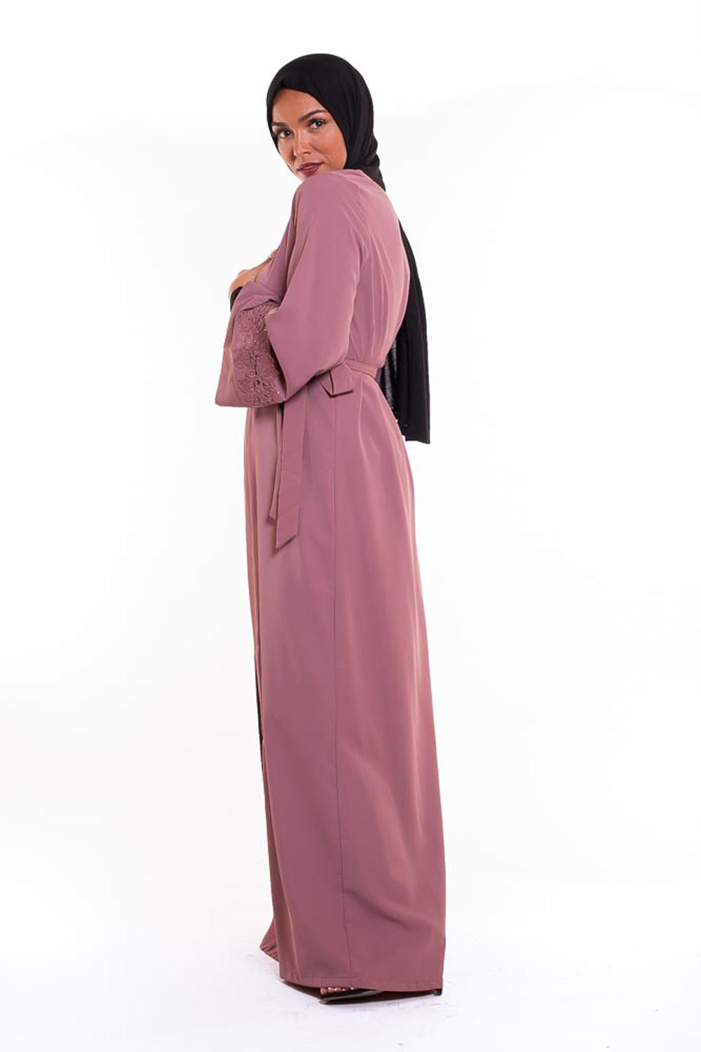 Kimono Emira mauve