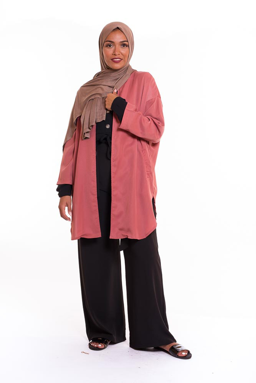 veste moda rose foncé