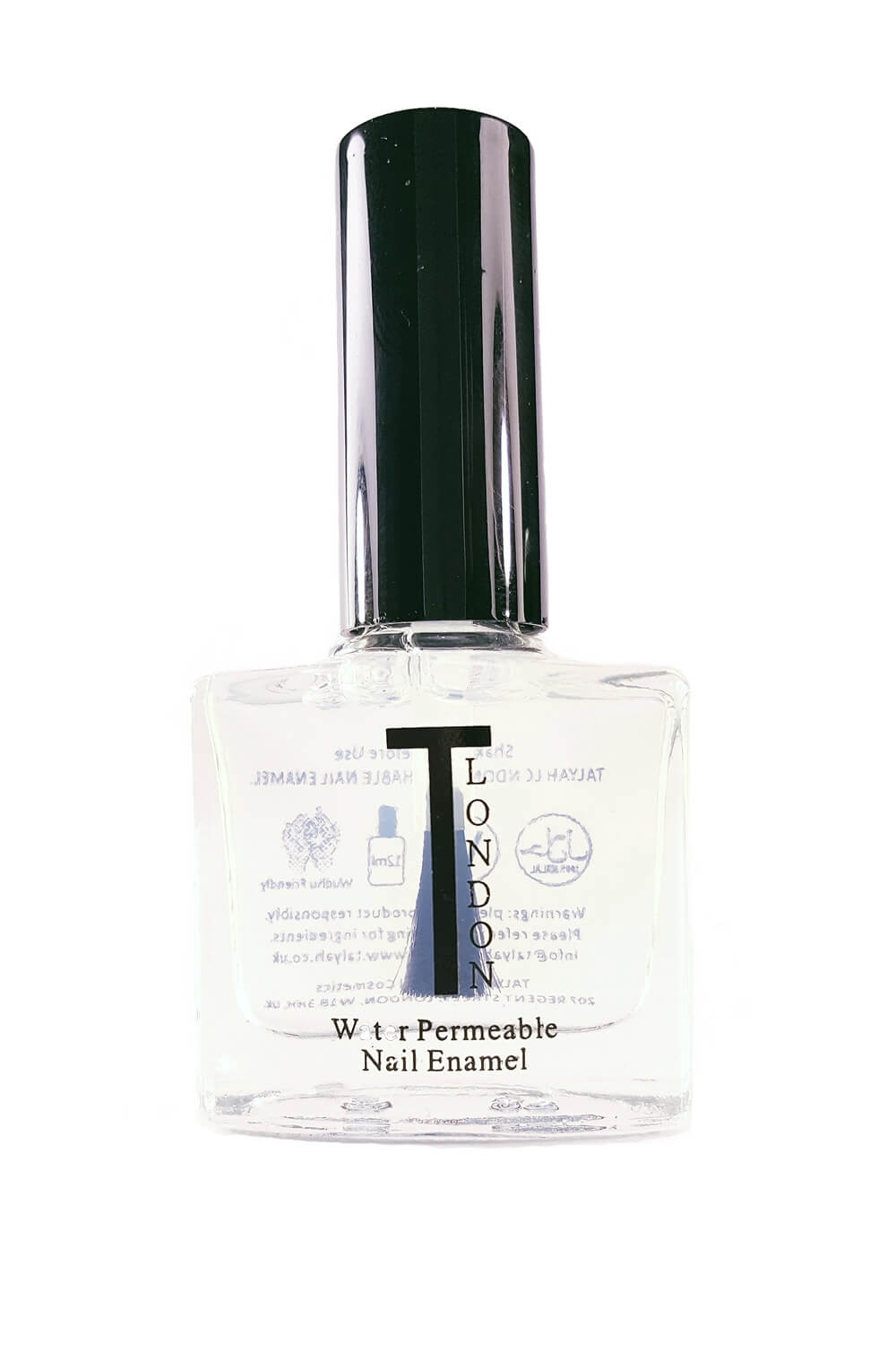 Vernis perméable halal et naturel top coat boutique musulmane