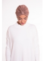 Turban summer taupe boutique hijab