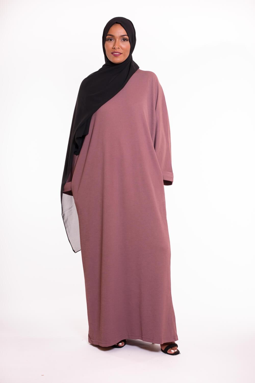Abaya Oversize mauve