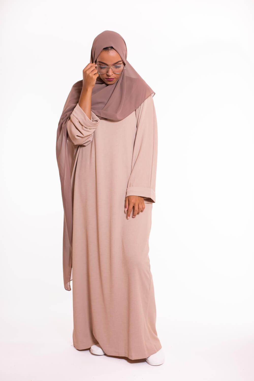Abaya Oversize beige
