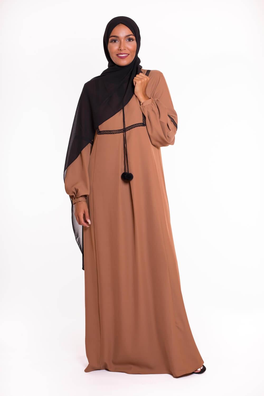 Robe Pame camel