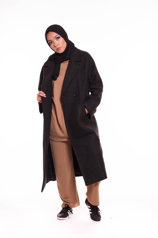 Manteau Oversize noir